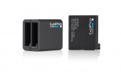 GoPro Dual Charger + Bateria GoPro 4