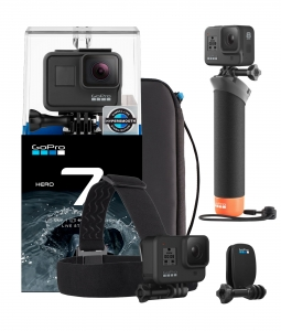 Kamera GoPro HERO 7 BLACK + Adventure Kit