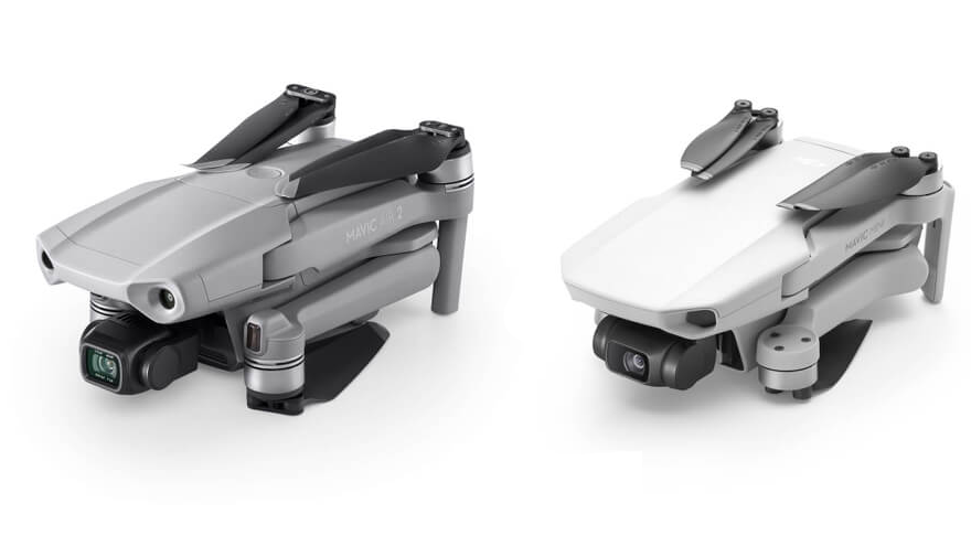 budowa DJI Mavic Air 2 vs DJI Mavic Mini