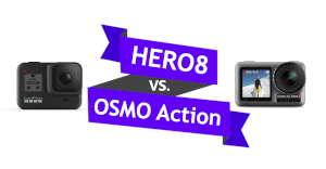 GoProsfera #124 - HERO 8 Black vs Osmo Action
