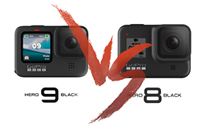 GoProsfera #180 - GoPro HERO 8 Black vs GoPro HERO 9 Black
