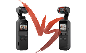 DJI Osmo Pocket vs DJI Pocket 2